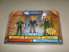 DC Universe Mattel Crisis Series 3 Pack 5 Arrow Black Canary Lantern Figure MISB
