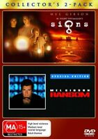 Signs / Ransom DVD Region 4 (VG Condition)