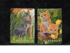 Australia Fauna Perros y Gatos año 1996 (BL-604)