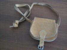 Vintage Leder Mini Tasche Portemonnaie Braun Cognac 60er 70er Boho Bag