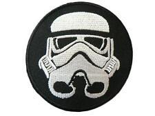 Star Wars Stormtrooper Gestickte patches Stormtrooper helm patch
