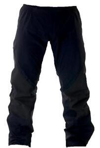 BLACK WATERPROOF WINDPROOF TROUSERS Ladies 18-20 hiking pants walking bottoms XL