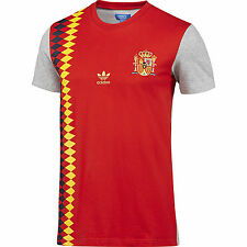 LARGE adidas Originals Men's  SPAIN TEAM FUTBOL TEE Shirt  F77384  Red  1 AVAIL