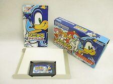 SONIC ADVANCE Item Ref/ccc Game Boy Advance Nintendo Japan Game gba