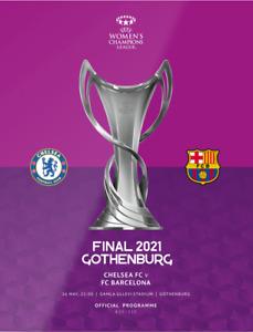 UEFA WOMEN'S CHAMPIONS LEAGUE FINAL 2021 Chelsea Ladies v Barcelona Femeni