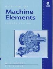 Design of Machine Elements (7th Edition)  (NoDust)
