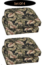 4 SET Dining Seat Cushion Chair Set Patio Garden Outdoor Room Kitchen 18x20x4 in