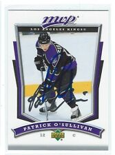 Patrick O'Sullivan Signed 2007/08 Upper Deck MVP Card #154