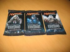 3x Shadows Over Innistrad SEALED Booster Packs MtG Magic the Gathering Cards SOI