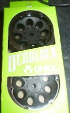 Axial AX8087 1.9 8 Hole Beadlocks Wheels Black (2pcs) SCX10 NIB NEW