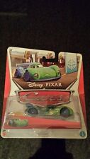 Disney Pixar cars Carla Veloso with flames
