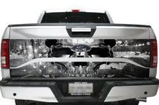 Ford F150 2 Piece Truck Bed Tailgate Graphic Wrap Sticker Decal 15-17 USA SKULL