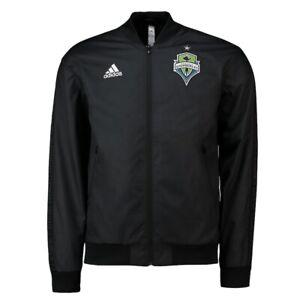 Adidas MLS Seattle Sounders FC Anthem Jacket Black EH8653