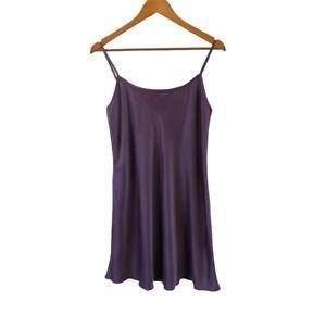 Undercoverwear Chemise Women's Sleep Dress Dark Purple Pajamas Size 12 - NWT