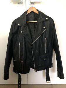 ASOS Leather Jacket Size (s)