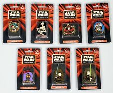 Star Wars Episode 1 Collectible Pin lot of 7 different vintage Disney applause
