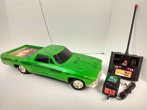 VINTAGE RADIO SHACK 1969 EL CAMINO REMOTE CONTROL CAR HYDRAULICS LOWRIDER ~WORKS