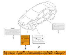 KIA OEM 12-13 Forte Label-AC A/C Sticker 976991M001