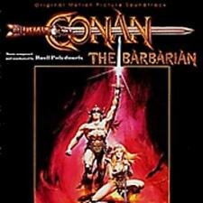 Conan The Barbarian Original Motion Picture Soundtrack w/ Artwork MUSIC AUDIO CD