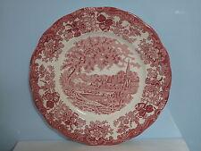 Royal Worcester Avon Scenes PALISSY Rot England Speiseteller flacher Teller
