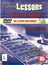FIRST LESSONS BLUES GUITAR - MIXED MEDIA CD/DVD/MUSIC BOOK