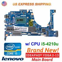 New Lenovo YOGA 2 13 20344 Intel CPU i5-4210U Laptop  ZIVY0 LA-A921P Motherboard