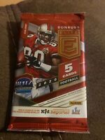 2020 Panini Donruss Elite Football Hobby Pack (1) Sealed New Donruss Elite Fotl