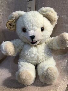 """1985 Snuggle Bear Plush Stuffed Toy 10"""" Tall Vintage Lever Brothers Russ *E"""