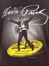 Sun Records Memphis Tennessee That's All Right ELVIS PRESLEY t shirt sz XXL 2XL