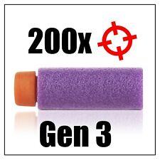 Worker Stefan Short Dart Gen 3 (Purple) for Nerf Blaster