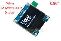 "White 0.96"" I2C IIC 12864 128*64 OLED Display Screen Module For Arduino Uno R3"