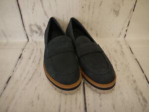 Timberland Damen Schuhe Slipper Halbschuhe London Square Slip On Navy Gr. 38 Neu
