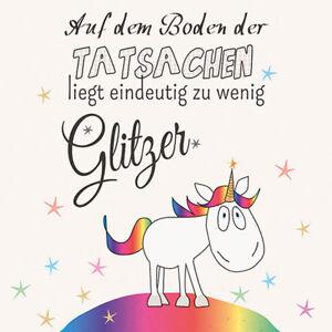 Servietten - Einhorn Zu wenig Glitzer - Follow your dreams Geburtstag Nachwuchs