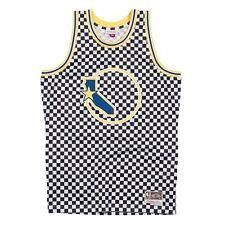 8d180332a72 Golden State Warriors Mitchell & Ness Men's Checkered Swigman Jersey