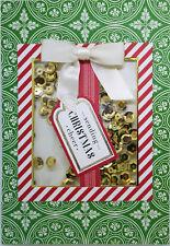 Set of 5 Homemade Shaker Presents Christmas Cards 2017