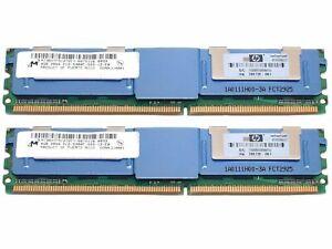 HP 4GB (1x4GB) PC2-5300F Memory Module 416472-001 398707-051 397413-B21 398708-0