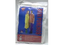 5 PACK Outdoor Travel Raincoat / Plastic Disposable Rain Poncho