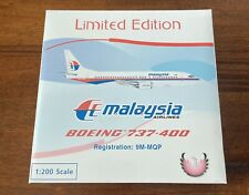 Phoenix Models Malaysia Airlines B737-46J 1:200 Scale Diecast 9M-MQP 90's Colors