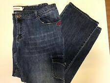 Ecko Red Denim Plus Size 22 Blue Jeans Boot Cut Graffiti Stretch Pants Carpenter