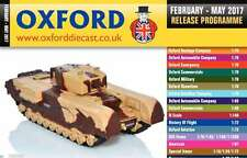 Oxford Diecast 48 página Catálogo De Bolsillo programa de liberación de febrero a mayo de 2017