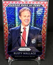 RUSTY WALLACE 2016 PANINI PRIZM REFRACTOR NASCAR HALL OF FAME #02/75-MILLER LITE