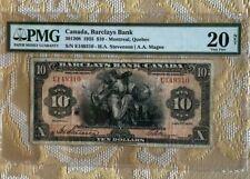 1935 Canada $10 PMG 20 NET