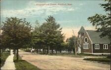 Blandford MA Cong Chapel 1916 Used Postcard