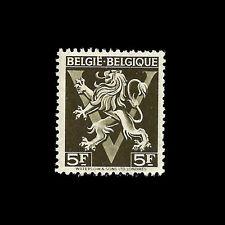Belgium. Lion Rampant. (5F) 1944. Scott 336. MLH (BI#13)