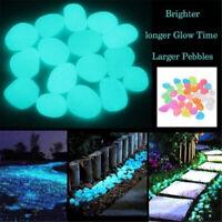 Garden Decoration Glowing Rocks Pathway Decor Luminous Stones Glow Pebbles