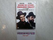 ANCHE GLI ANGELI MANGIANO FAGIOLI DVD 01Distr. B.SPENCER G.GEMMA FUORI CAT Usato