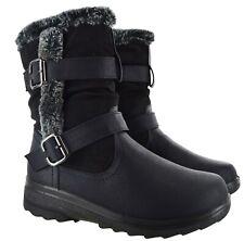Para mujer caliente de invierno Botas de Esquí Deporte THERMO Damas Moda zapatos de agarre antideslizante Talla
