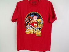 Angry Birds Star Wars May the Force Be with You Fifth Son T Shirt Red Size M
