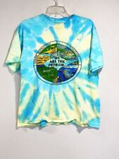 VTG 1990s Earth Day Tie Dye T Shirt Large