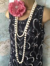 Navy Argento Perline Pisarro Nights Gatsby 20s nozze abito da sera abito da sposa 10